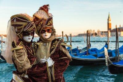 Nálepka Carnevale Venezia