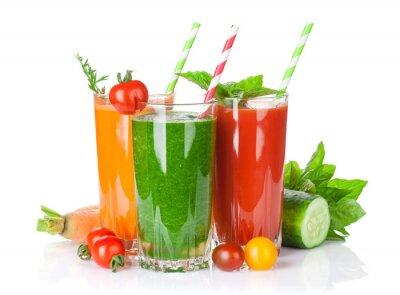 Nálepka Čerstvá zelenina smoothie