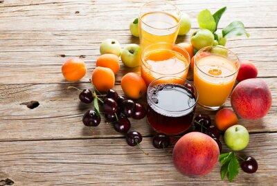 Nálepka Čerstvé ovoce šťávy