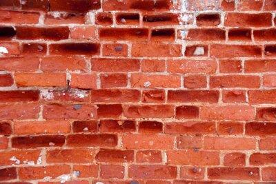 Červené cihlové zdi