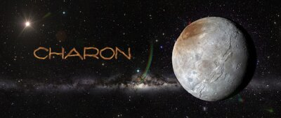 Nálepka Charon v outerspace.