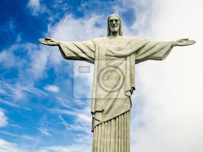 Nálepka Christusstatue v Rio de Janeiru