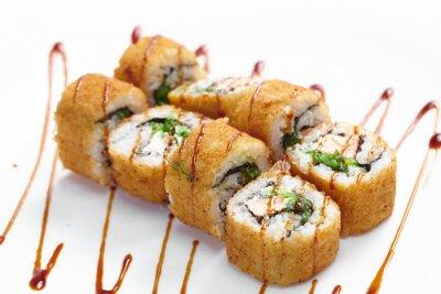 Nálepka chutné sushi