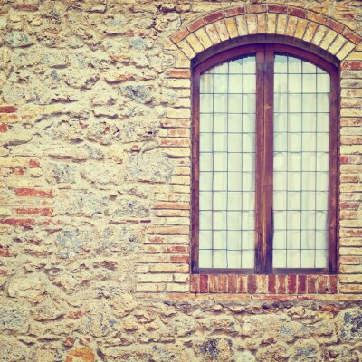 Nálepka Closed Window