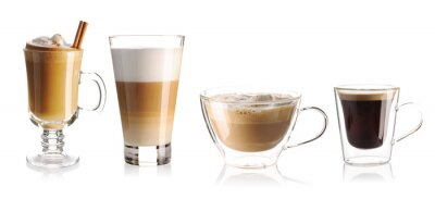 Nálepka Coffee collection