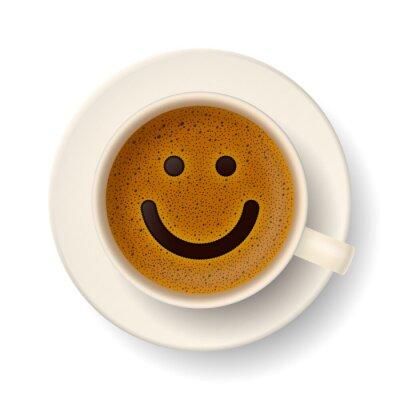 Nálepka Coffee cup for good mood