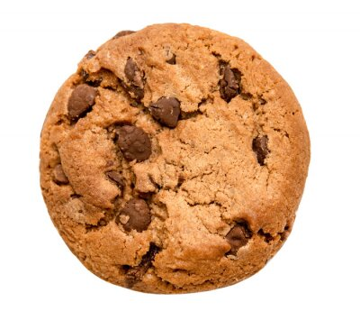 Nálepka čokoláda čip cookies