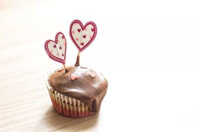 Nálepka Čokoláda Muffin Dezert