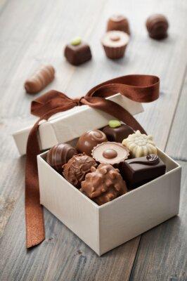 Nálepka čokolády
