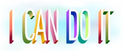 Nálepka Colorful illustration of