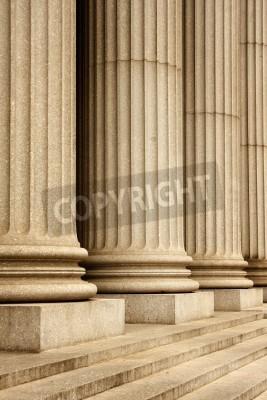 Nálepka Columns of the Supreme Court building - New York City, USA