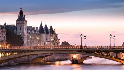 Nálepka Conciergerie Paříž Francie