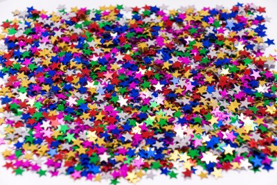 Confetti pozadí