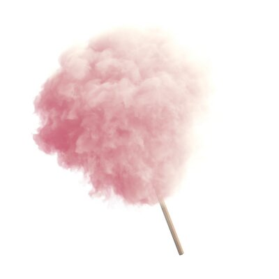 Nálepka Cotton candy isolated