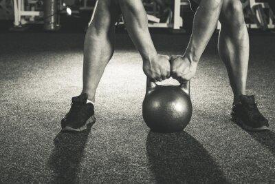 Nálepka CrossFit kettlebell školení