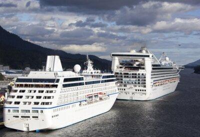 Nálepka Cruise Dovolená na Aljašce