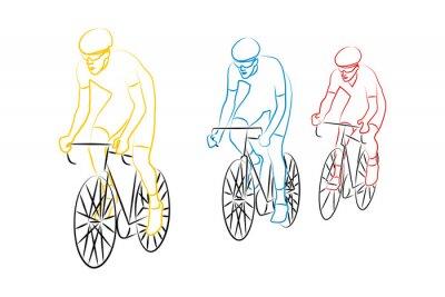 Nálepka cyclisme