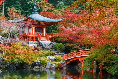 Nálepka Daigoji Temple v Kjótu