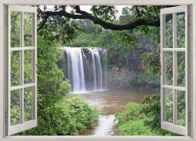 Nálepka Dangar Falls zobrazit v otevřené okno