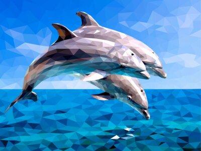 Nálepka delfín