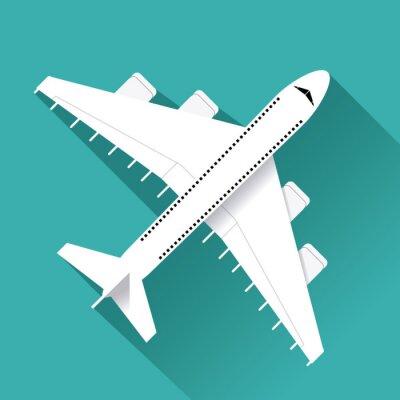 Nálepka Design ikonou letadla