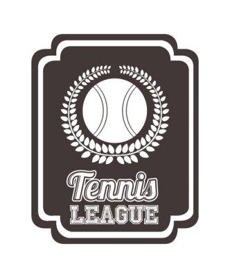 Nálepka Design tenisová liga