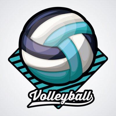 Nálepka Design volejbalové ligy