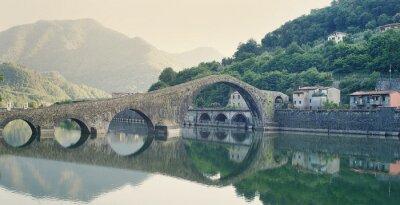 Nálepka Devils Bridge Italy
