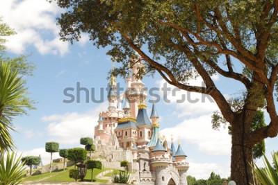 Nálepka Disneyland Paris castle