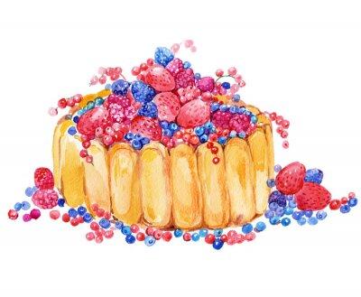 Nálepka dort