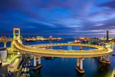 Nálepka Duhový most Tokyo