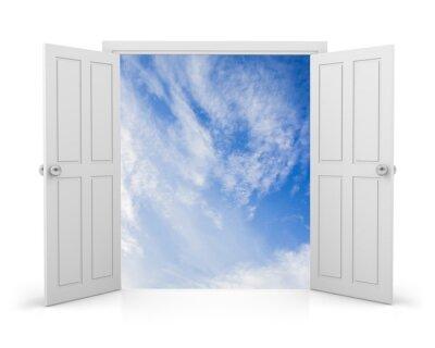 Nálepka dveře