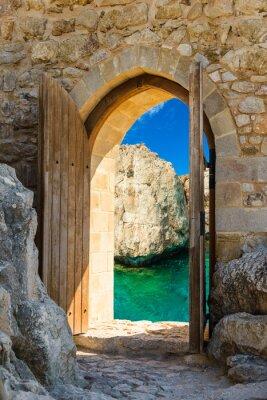 Nálepka dveře otevřené moře