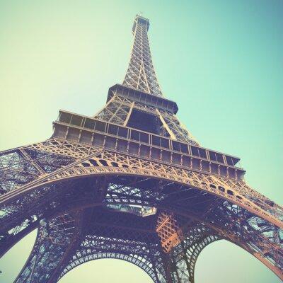 Nálepka Eiffelova věž