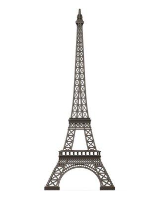 Nálepka Eiffelova věž izolované
