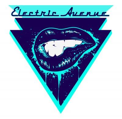 Nálepka Electric Avenue