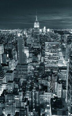 Nálepka Empire State Building detailní