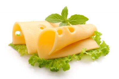 Nálepka Folded Maasdam cheese