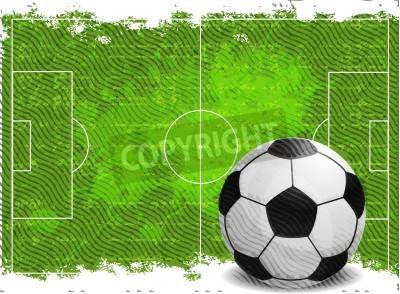 Nálepka Fotbal design pozadí