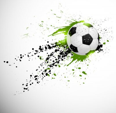 Nálepka Fotbal designu