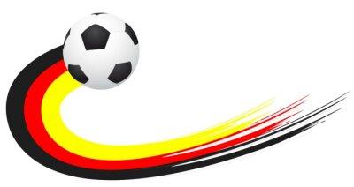 Nálepka Fotbal - Deutschland