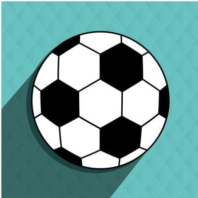 Nálepka fotbal fotbal designu