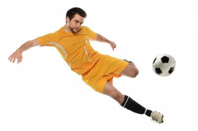 Nálepka Fotbalista v akci
