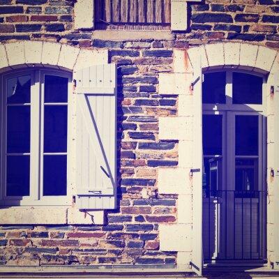 Nálepka Francouzská okna
