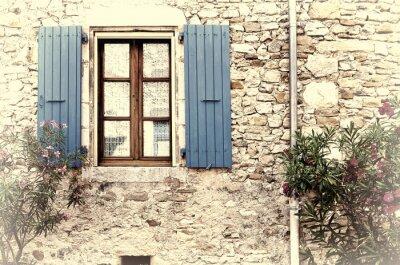 Nálepka Francouzské okno