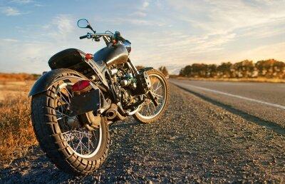Nálepka Freedom.Motorbike pod oblohou