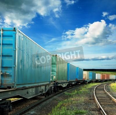 Nálepka freight cars