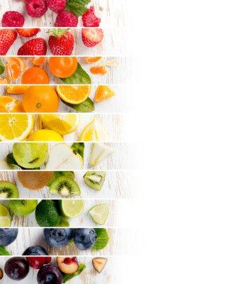 Nálepka Fruit Mix Stripes