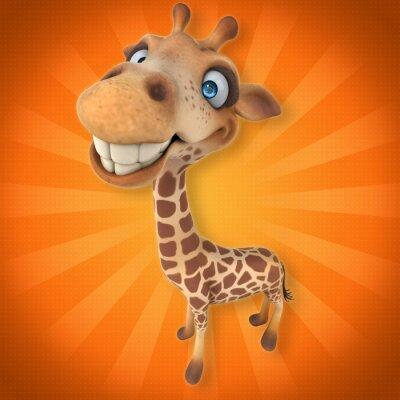 Nálepka Fun žirafa