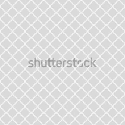 Nálepka Geometrická abstraktní vzor bezešvé. Klasické pozadí. Vektorové ilustrace